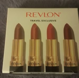 Revlon super Lustrous matte lipstick 4 pack